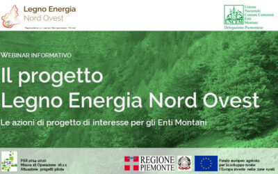 Il progetto LENO: le azioni di progetto di interesse per gli Enti Montani